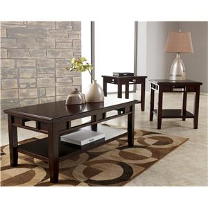Signature Design by Ashley Logan 3-in-1 Occasional Table Set