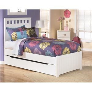 Signature Design by Ashley Furniture Lulu Twin Bed with Storage/Trundle