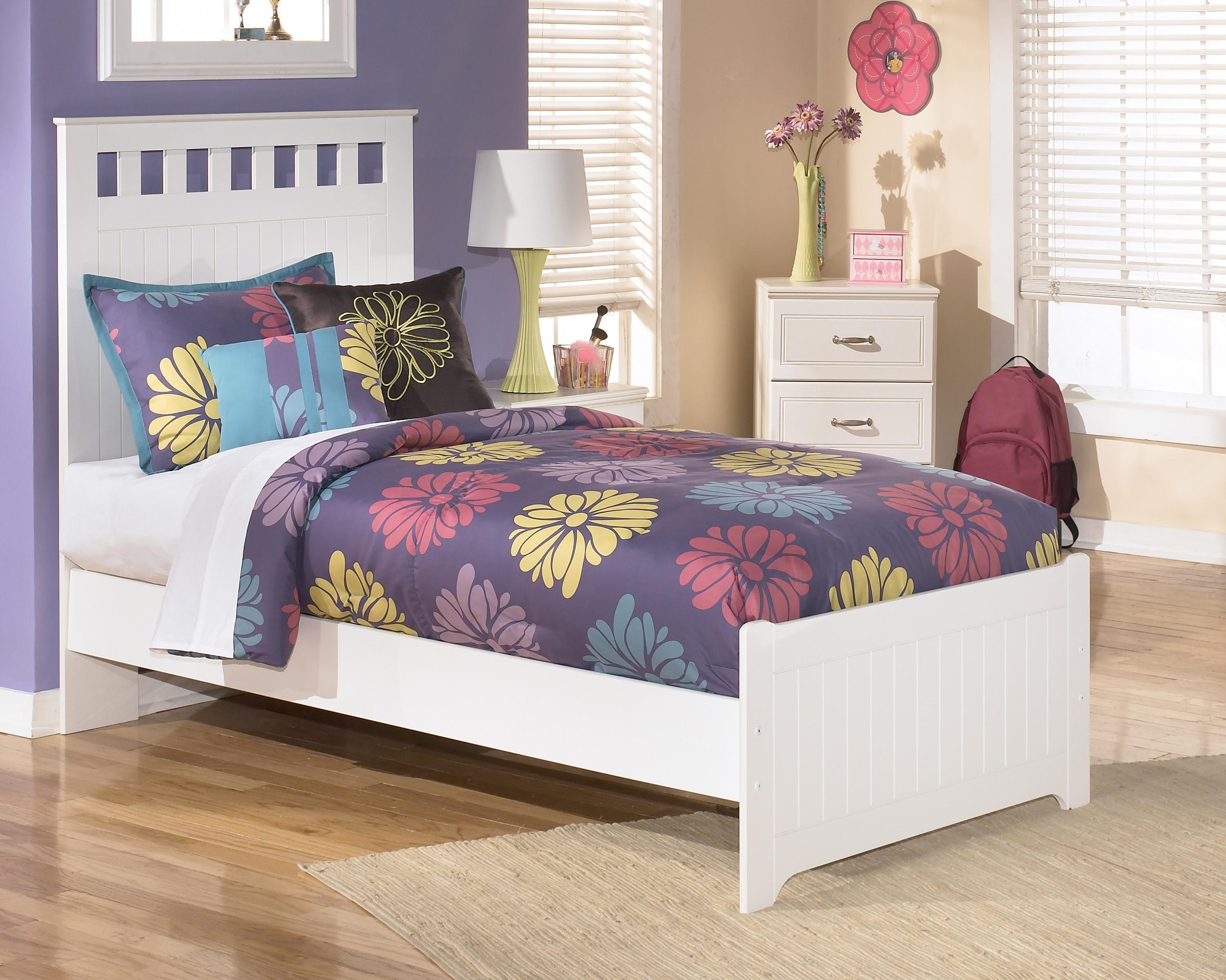 Twin Panel Headboard And Footboard Bed By Signature Design