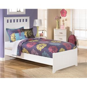 Twin Panel Headboard and Footboard Bed