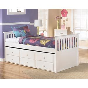 Signature Design by Ashley Lulu Twin Bed with Trundle