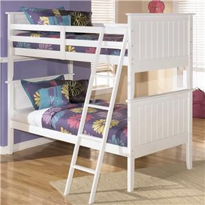 Signature Design by Ashley Lulu Twin/Twin Bunk Bed