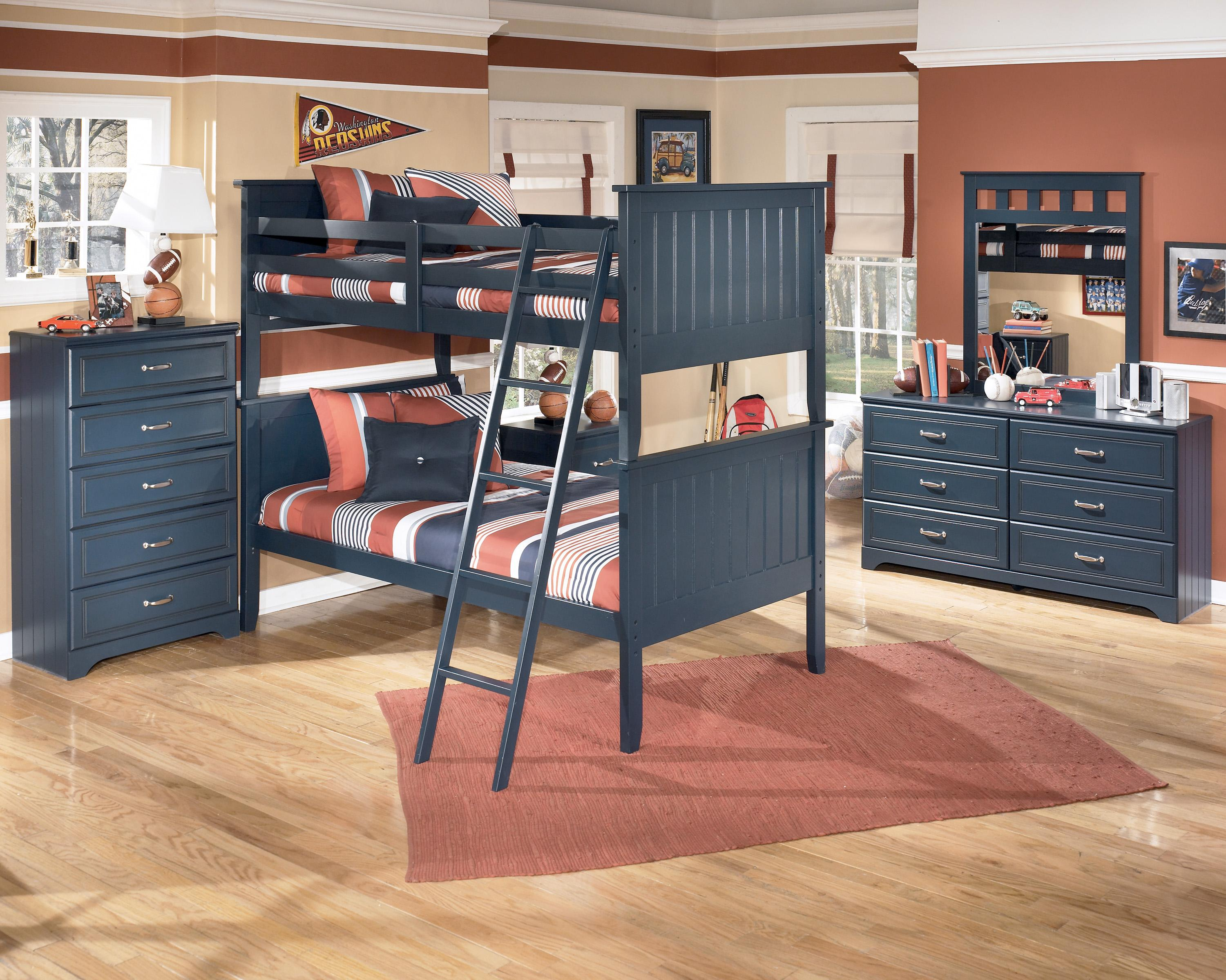Twin Twin Bunk Bed By Signature Design By Ashley Wolf