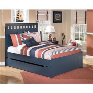 Signature Design by Ashley Furniture Leo Full Bed with Storage/Trundle