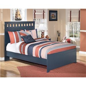 Full Bed: Includes headboard, footboard & rails