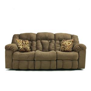 Signature Design by Ashley Furniture Macie - Brown Reclining Sofa