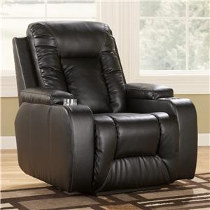 Signature Design by Ashley Matinee DuraBlend® - Eclipse Zero Wall Recliner