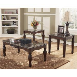 Ashley (Signature Design) North Shore 3-in-1 Pack of Occasional Tables