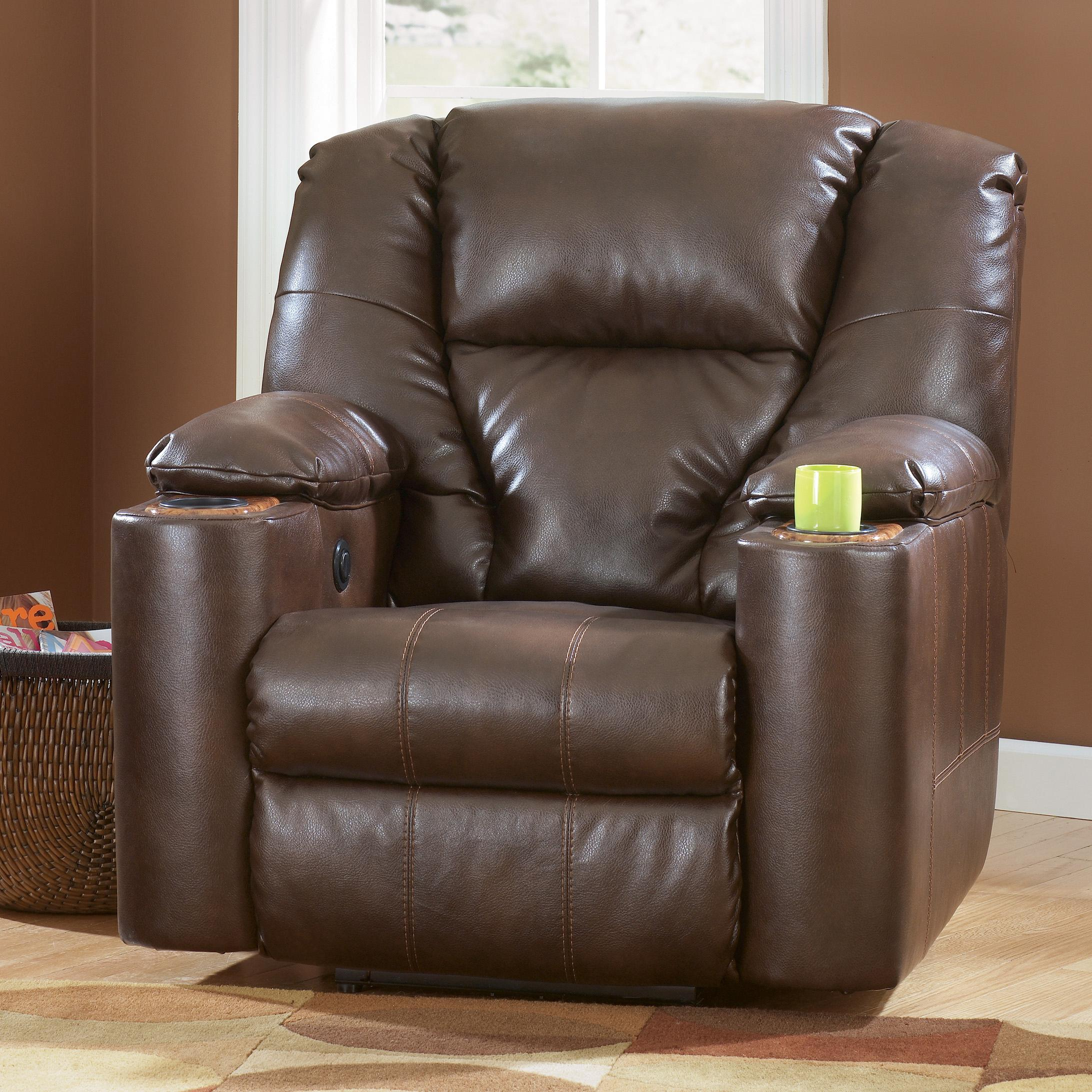 Power Recliner With Cup Holders By Signature Design By Ashley