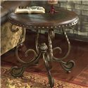 Signature Design by Ashley Furniture Rafferty  Round End Table - Item Number: T382-6