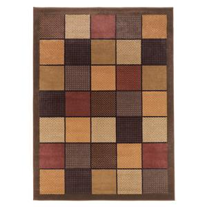 Signature Design by Ashley Furniture Contemporary Area Rugs Patchwork - Brown Rug