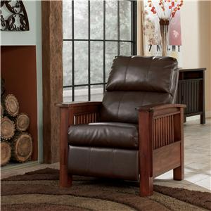 Signature Design by Ashley Furniture Santa Fe  High Leg Recliner