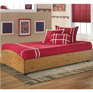 Signature Design by Ashley Furniture Stages Twin Loft Caster Bed