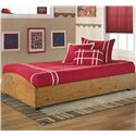 Signature Design by Ashley Stages Twin Loft Caster Bed - Item Number: B233-68B