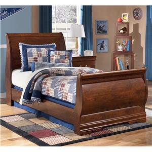 StyleLine Wilmington Twin Sleigh Bed