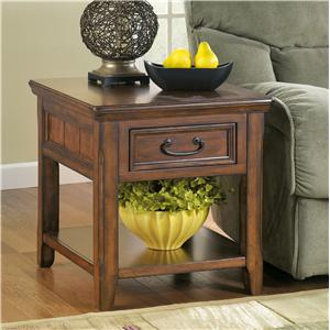 Signature Design by Ashley Furniture Woodboro End Table