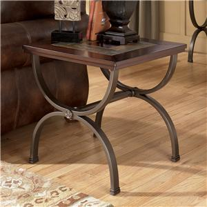 Ashley (Signature Design) Zander Square End Table