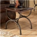 Ashley (Signature Design) Zander Square End Table - Item Number: T415-2
