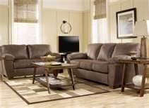 Signature Design by Ashley Furniture Amazon - Walnut 8 Piece Living Room Group/Amazon Walnut
