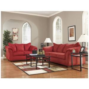 Signature Design by Ashley Furniture Darcy - Salsa 8 Piece Living Room Group / Darcy Salsa