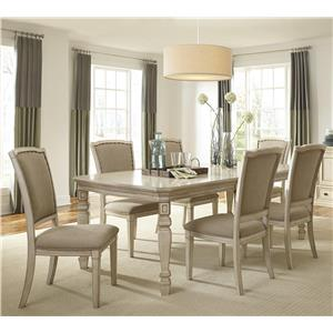 Signature Design by Ashley Demarlos 5-Piece Extension Table Set