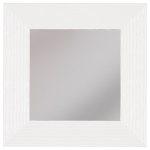 Odelyn White Wall Mirror