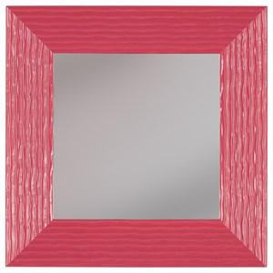 Odelyn Fuchsia Wall Mirror