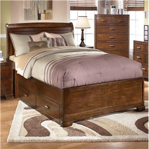 Signature Design by Ashley Alea Full Bed with 2 Storage Drawers