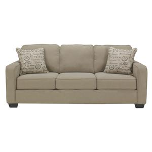 Comtemporary Track Arm Queen Sofa Sleeper