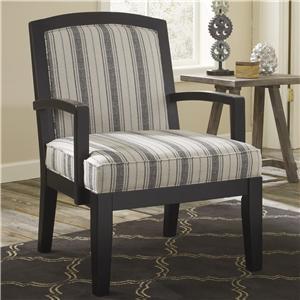 Signature Design by Ashley Furniture Alenya - Quartz Accent Chair