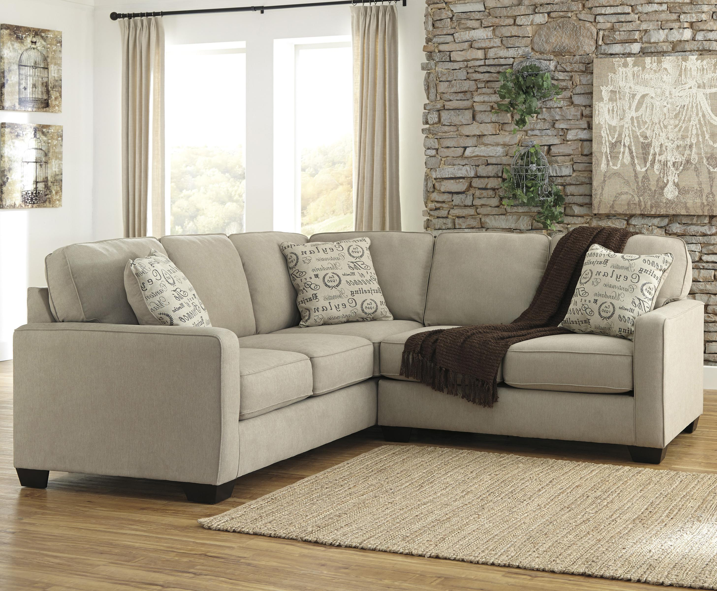 2 Piece Sectional With Right Loveseat By Signature Design By Ashley Wolf And Gardiner Wolf