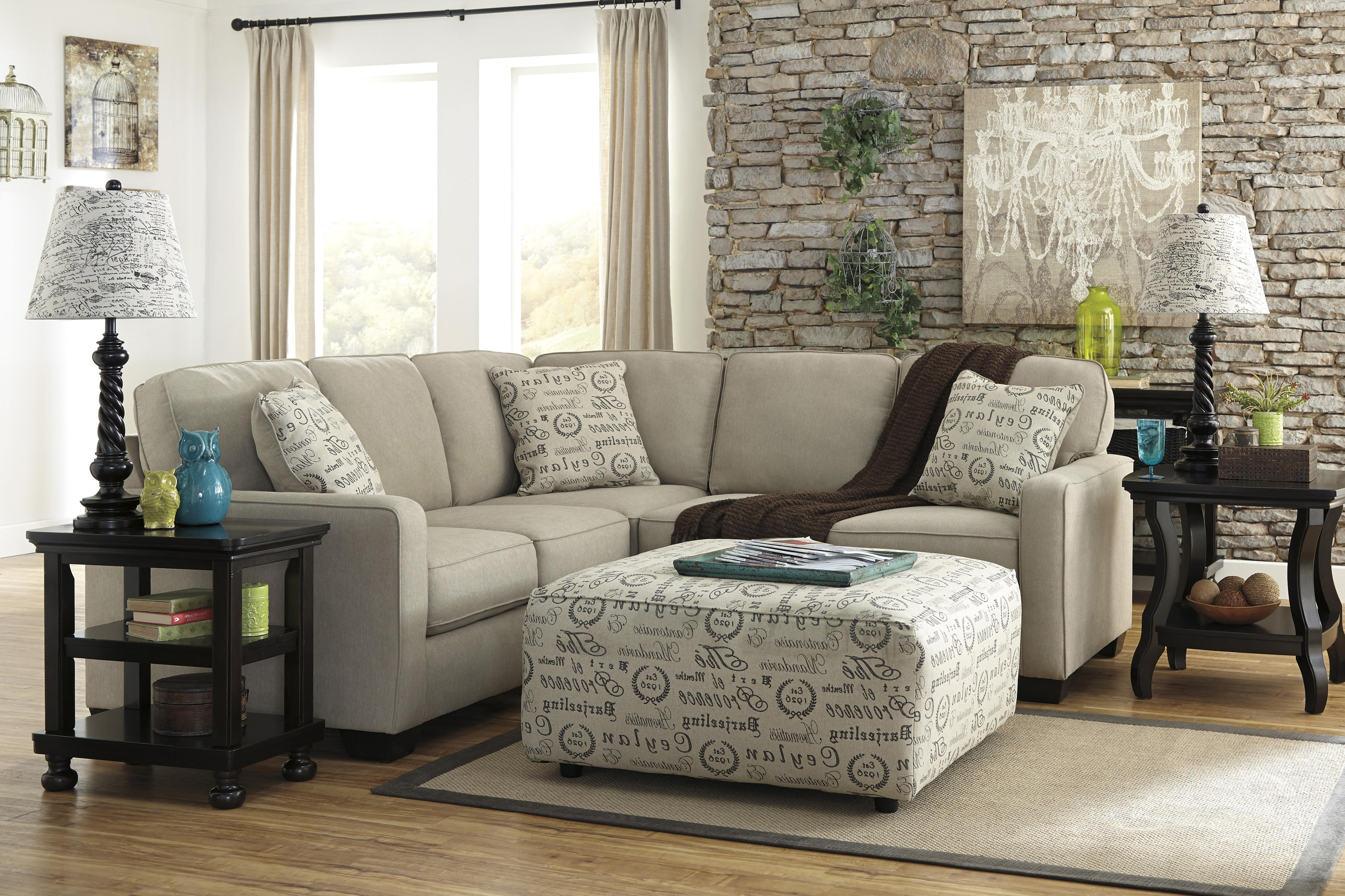 2 Piece Sectional with Right Loveseat by Signature Design by