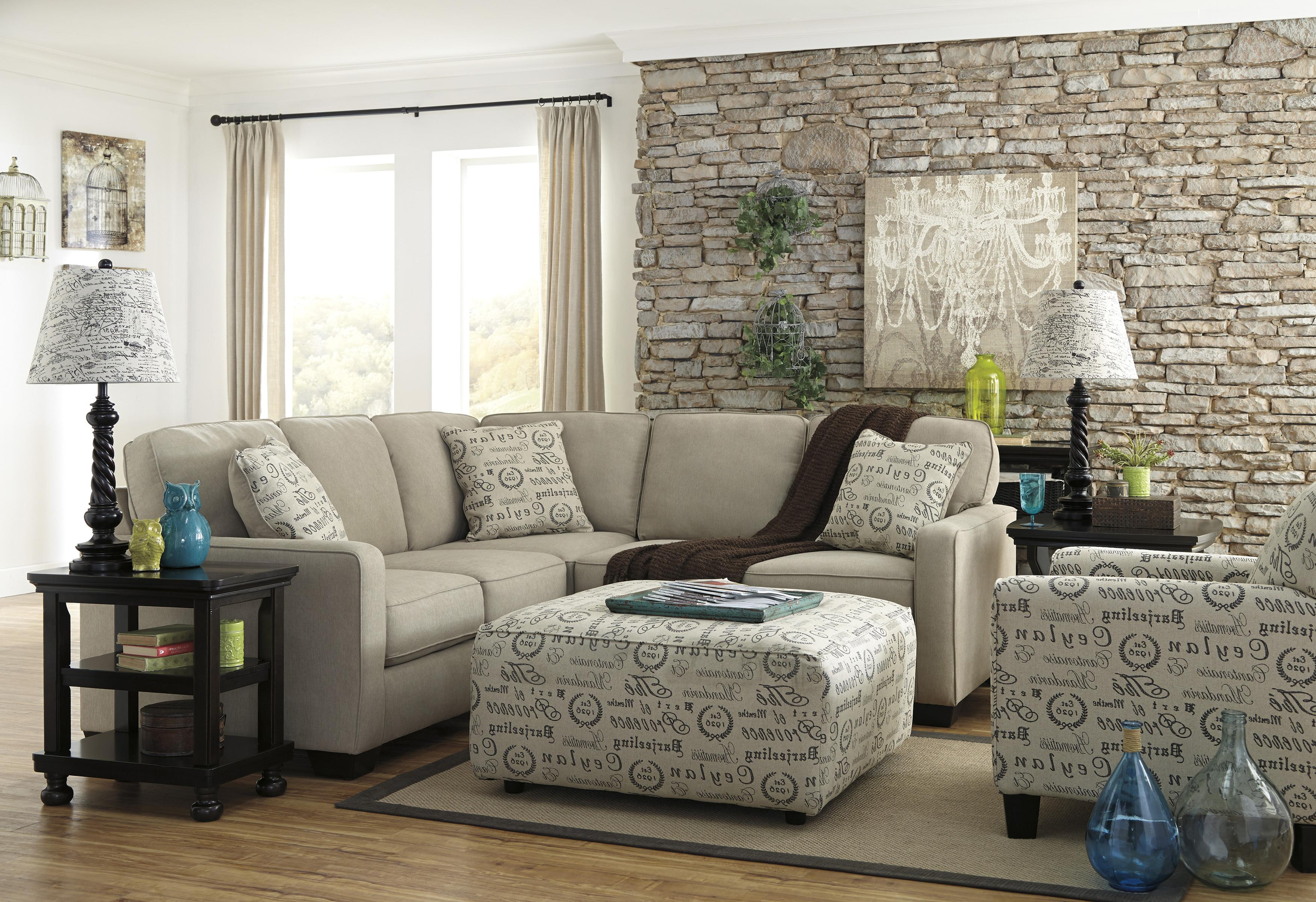 2piece sectional with right loveseat