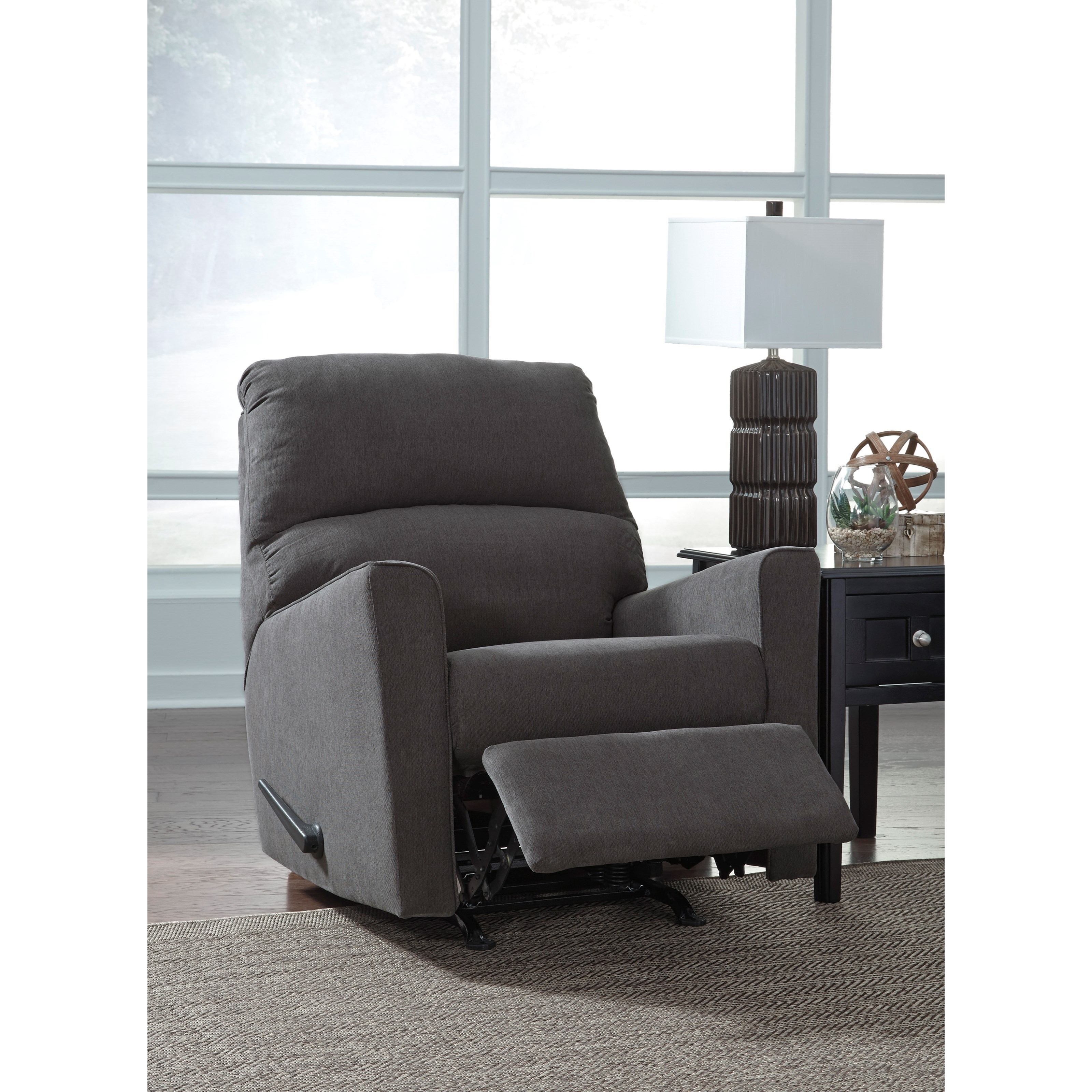 Furniture Store For Sale: Contemporary Rocker Recliner By Signature Design By Ashley