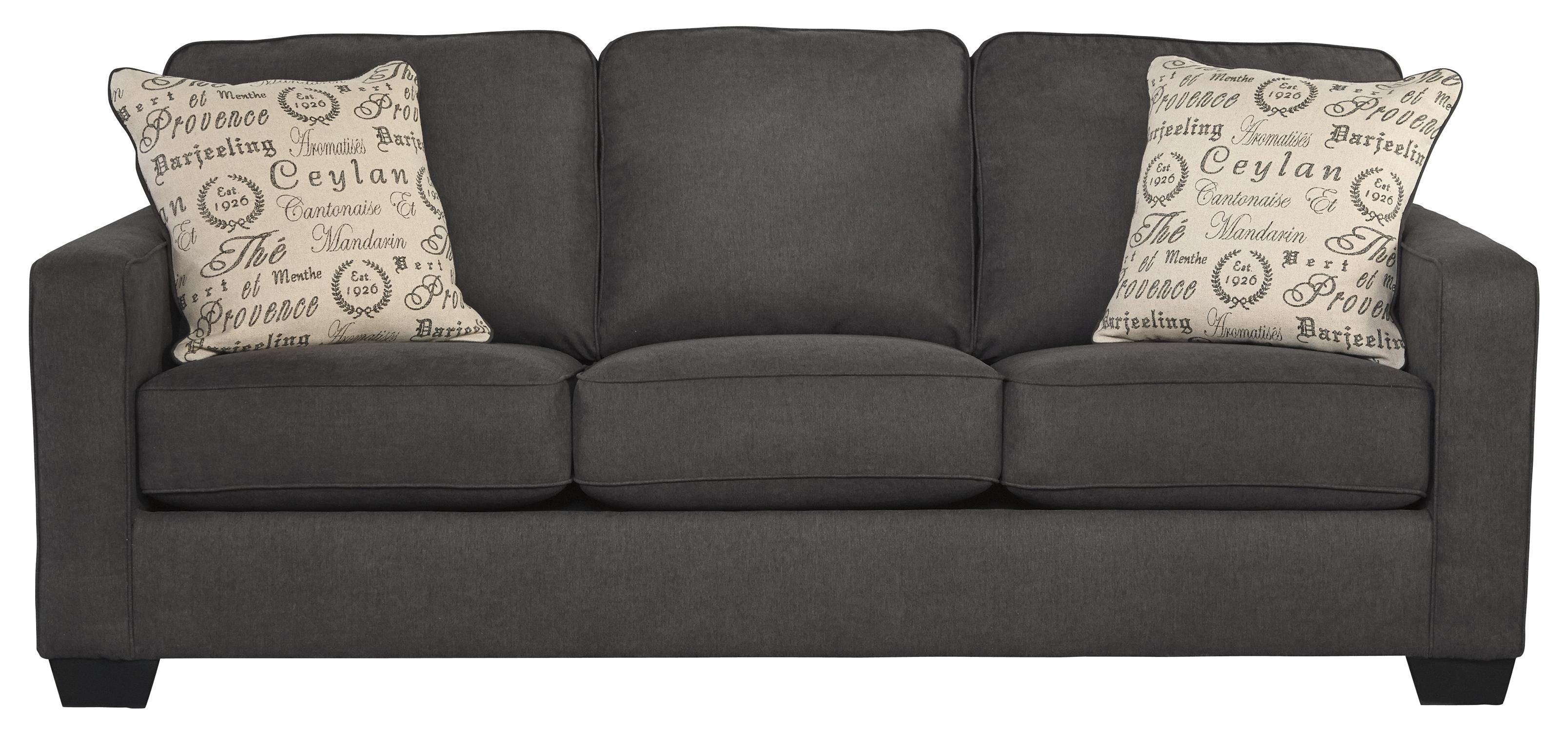 Contemporary Track Arm Sofa