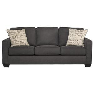 Contemporary Track Arm Sofa