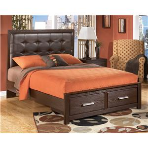 Signature Design by Ashley Aleydis Queen Storage Bed