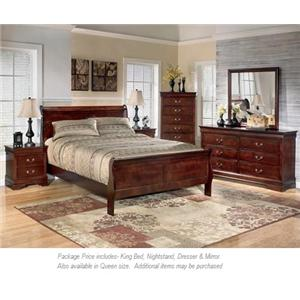 Signature Design by Ashley Alisdair 4pc King Bedroom
