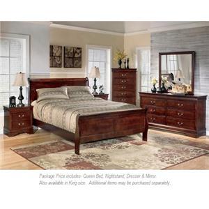 Signature Design by Ashley Alisdair 4PC Queen Bedroom