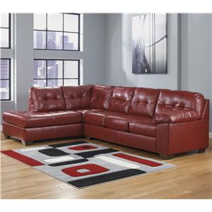 Signature Design by Ashley Alliston DuraBlend® - Salsa Right Facing Sectional
