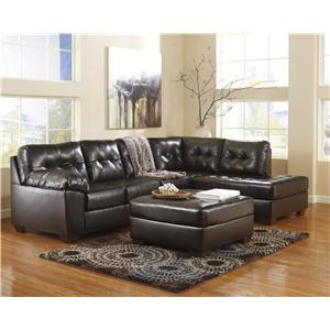 Ashley (Signature Design) Alliston DuraBlend® - Chocolate Stationary Living Room Group