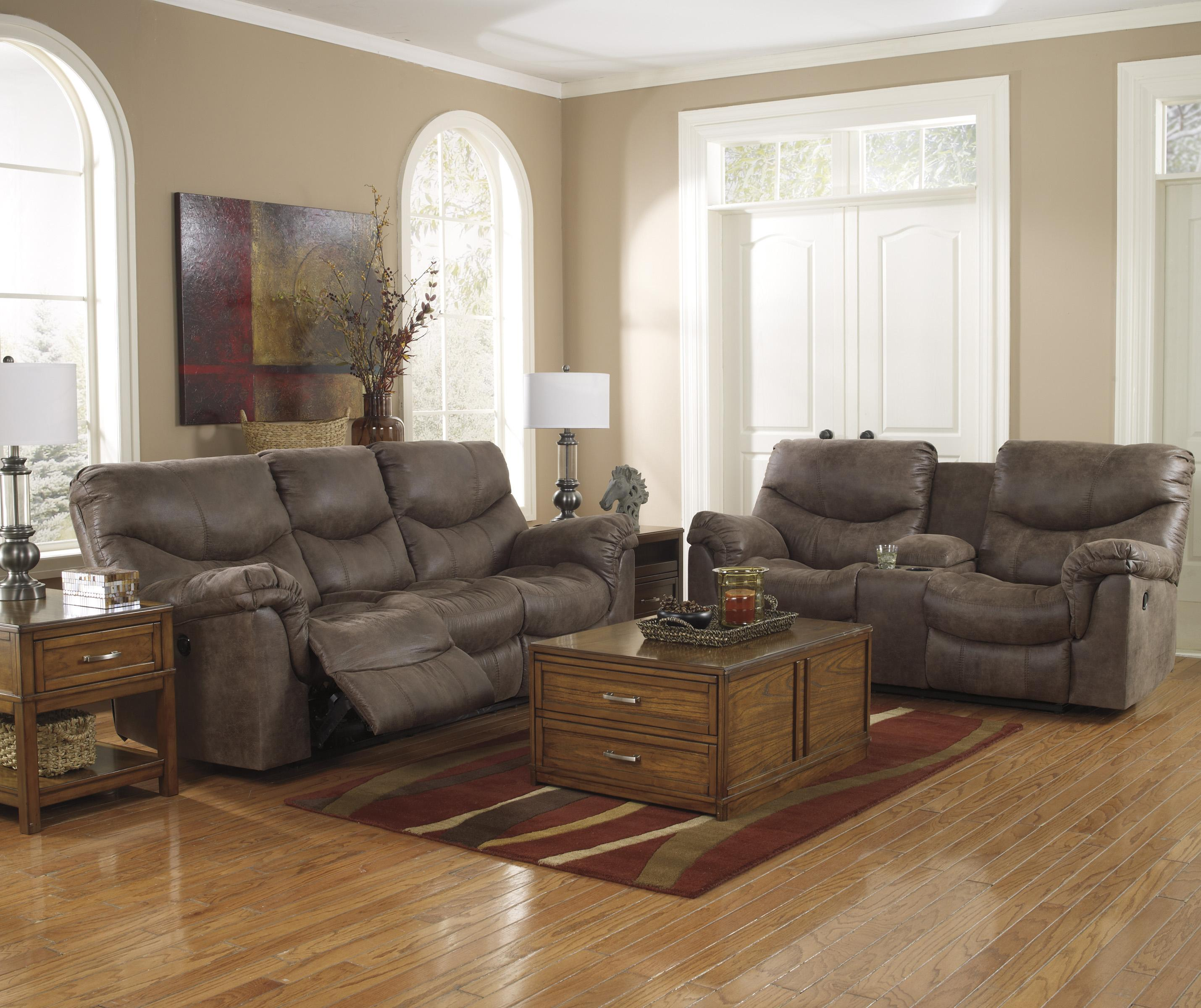 Double Reclining Loveseat with Console by Signature Design by Ashley ...