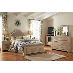 Signature Design by Ashley Annilyn Queen Bedroom Group