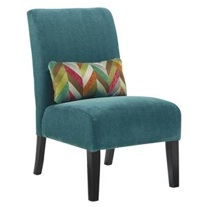 Signature Design by Ashley Annora - Teal Accent Chair
