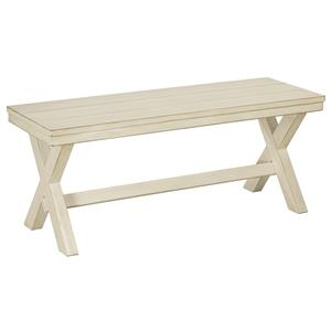 Signature Design by Ashley Arrowtown Large Dining Room Bench