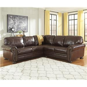 Signature Design by Ashley Banner 2-Piece Sectional