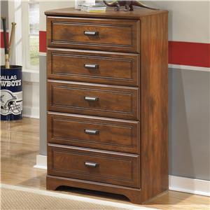 Signature Design by Ashley Barchan Five Drawer Chest