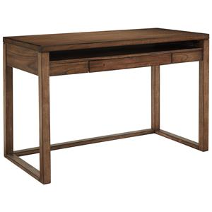 Home Office Small Desk with Drop Front Drawer