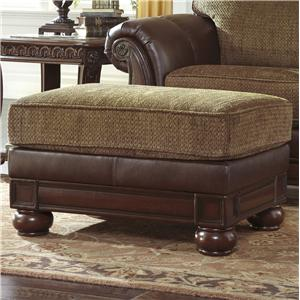 Signature Design by Ashley Beamerton Heights - Chestnut Ottoman