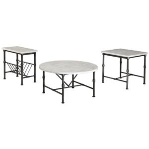 Signature Design by Ashley Beauban Occasional Table Set